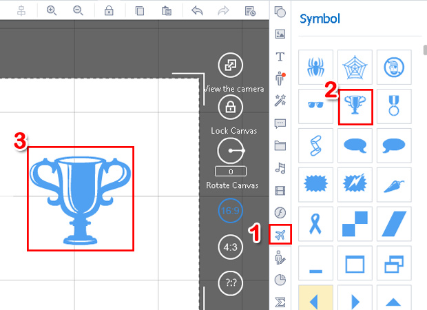 how to add symbols